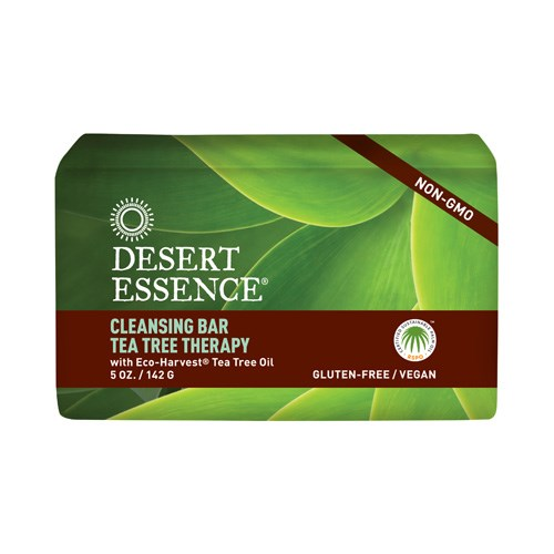 Tea Tree Therapy Cleansing Bar Soap 5 oz by Desert Essence