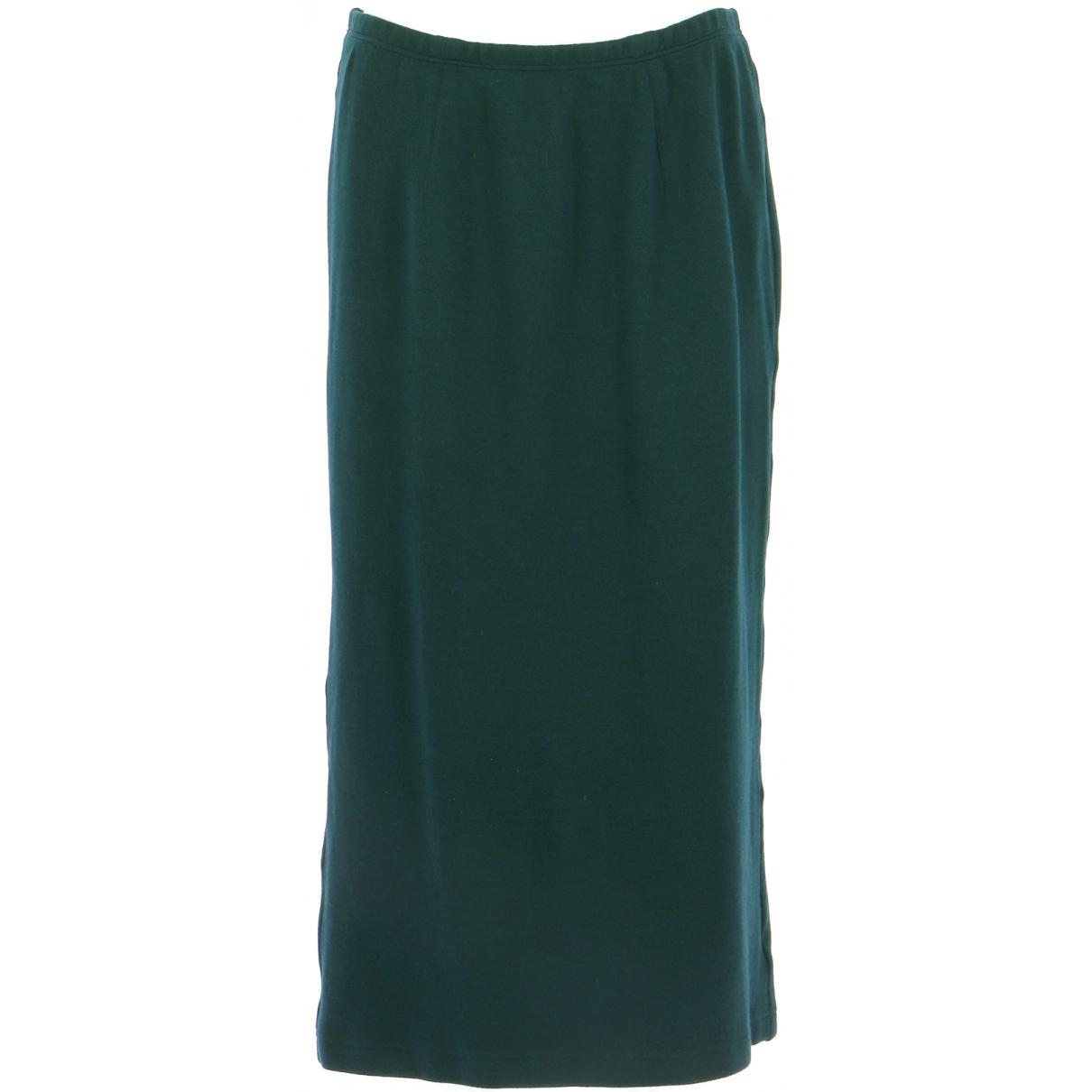 Autre Marque N Navy Wool skirt for Women 40 FR