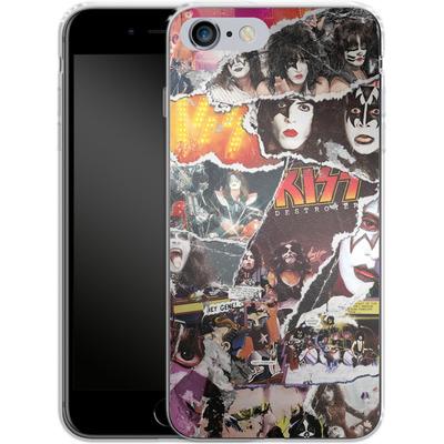 Apple iPhone 6 Plus Silikon Handyhuelle - KISS Collage von KISS®