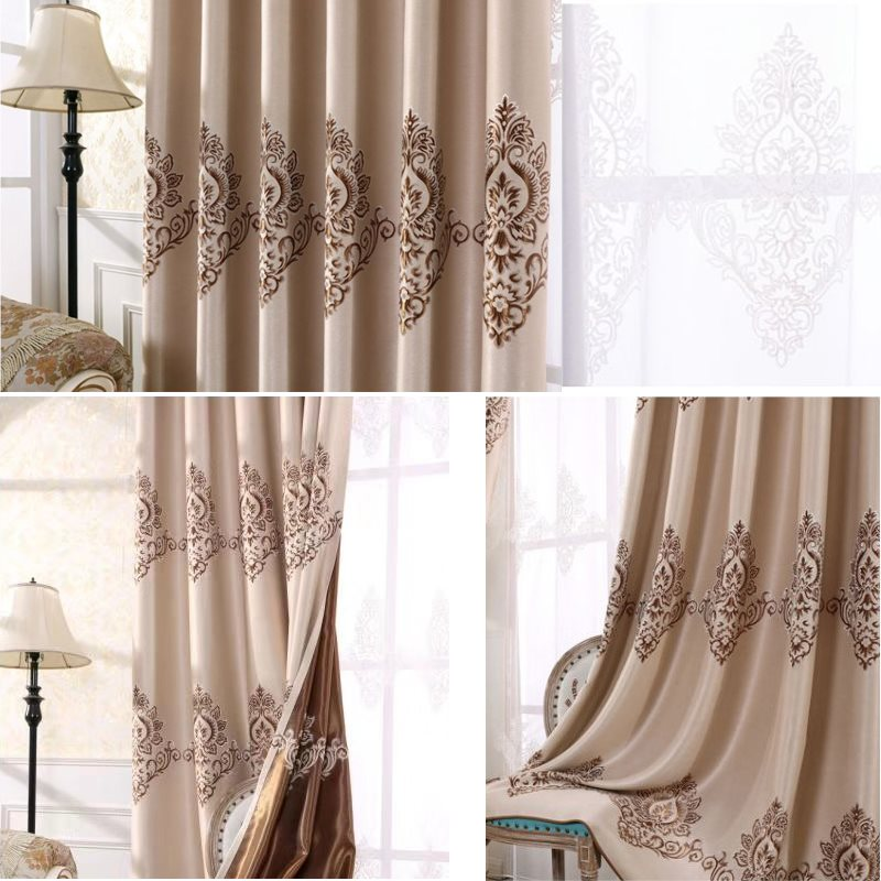 Noble and Elegant White Color Breathable and Decorative Sheer Curtains