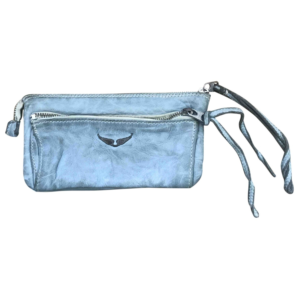 Zadig & Voltaire \N Turquoise Leather Purses, wallet & cases for Women \N