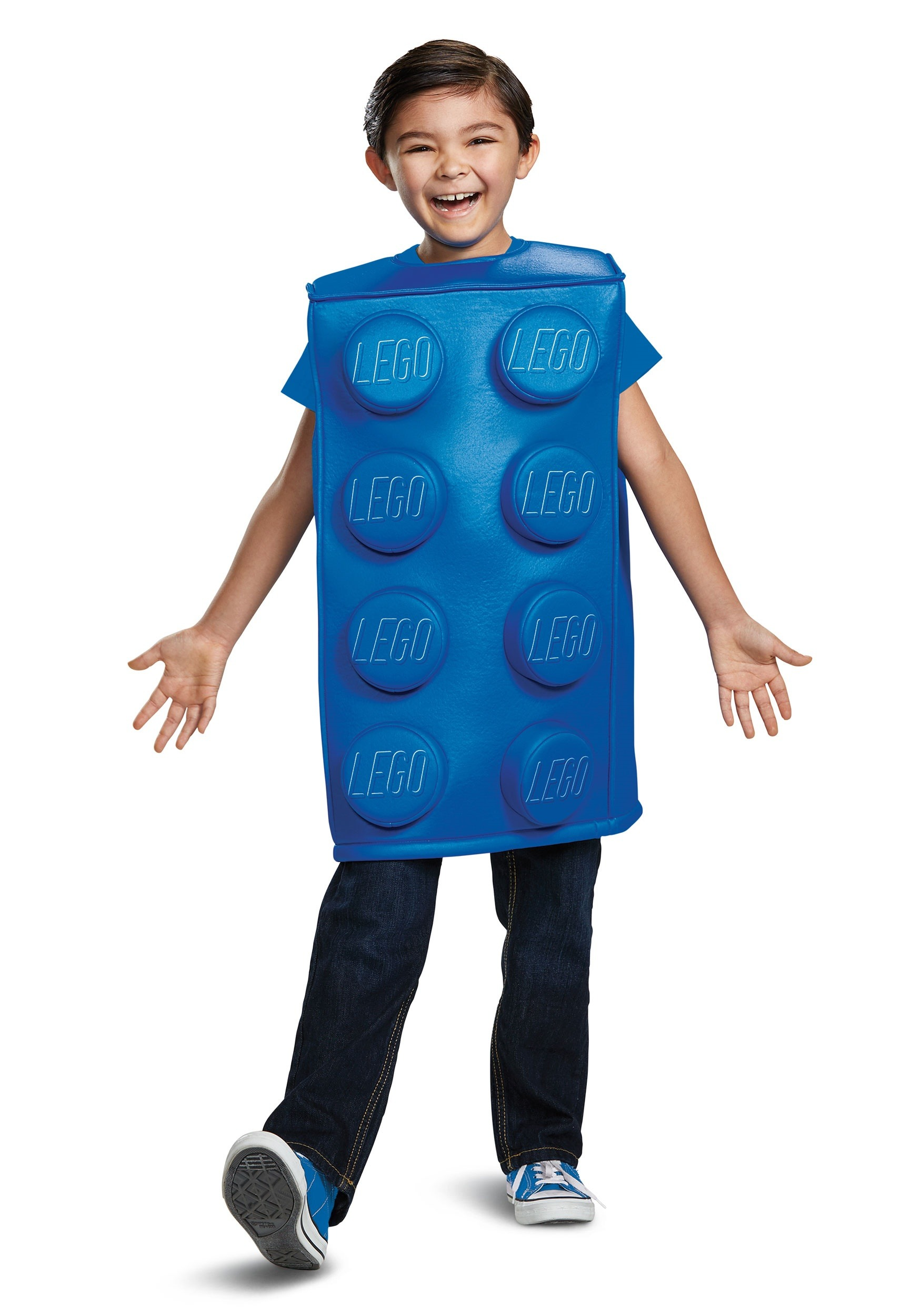 Child Lego Blue Brick Costume
