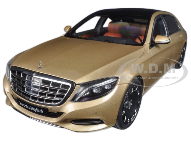 Mercedes Maybach S Class S600 Champagne Gold 1/18 Model Car by Autoart