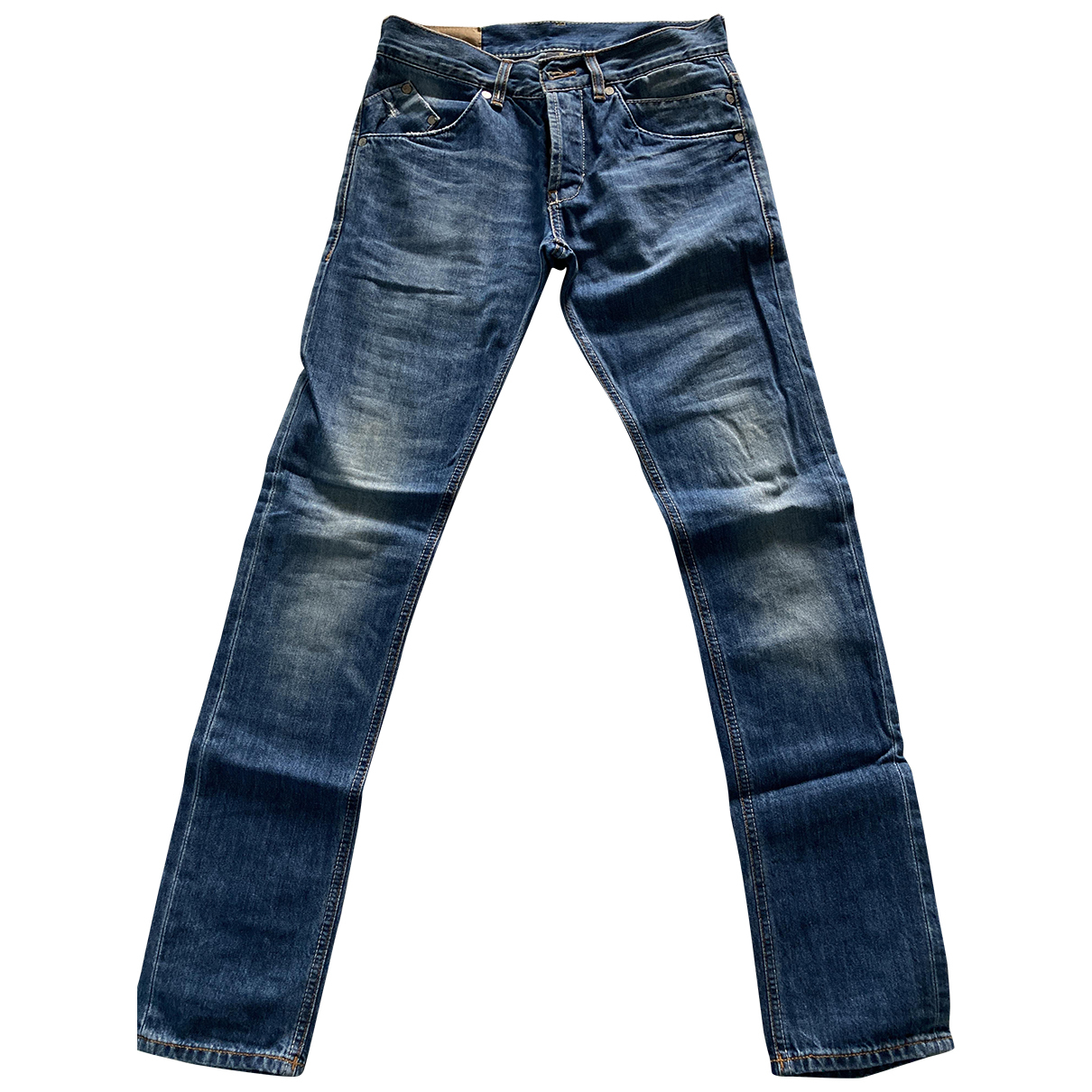 Dondup N Blue Cotton Jeans for Men 29 US