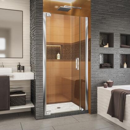 SHDR-4334060-01 Elegance-LS 38 - 40 W x 72 H Frameless Pivot Shower Door in