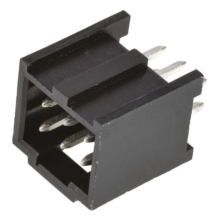 Molex , C-Grid III, 90130, 6 Way, 2 Row, Straight PCB Header (5)