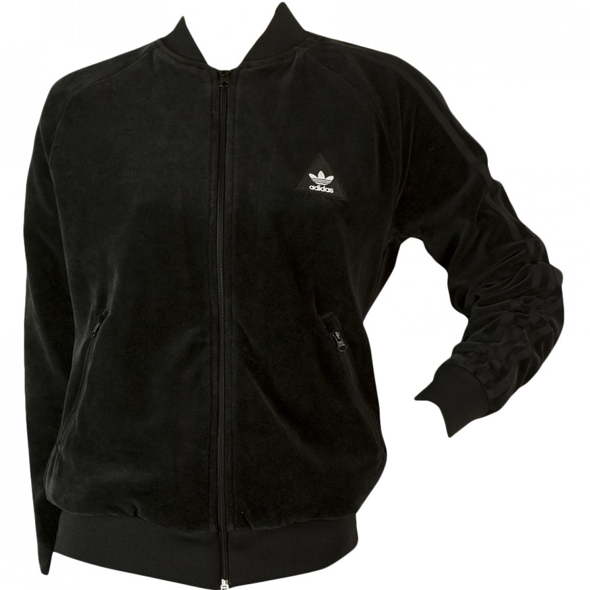 Adidas X Pharrell Williams - Veste   pour femme en coton - noir