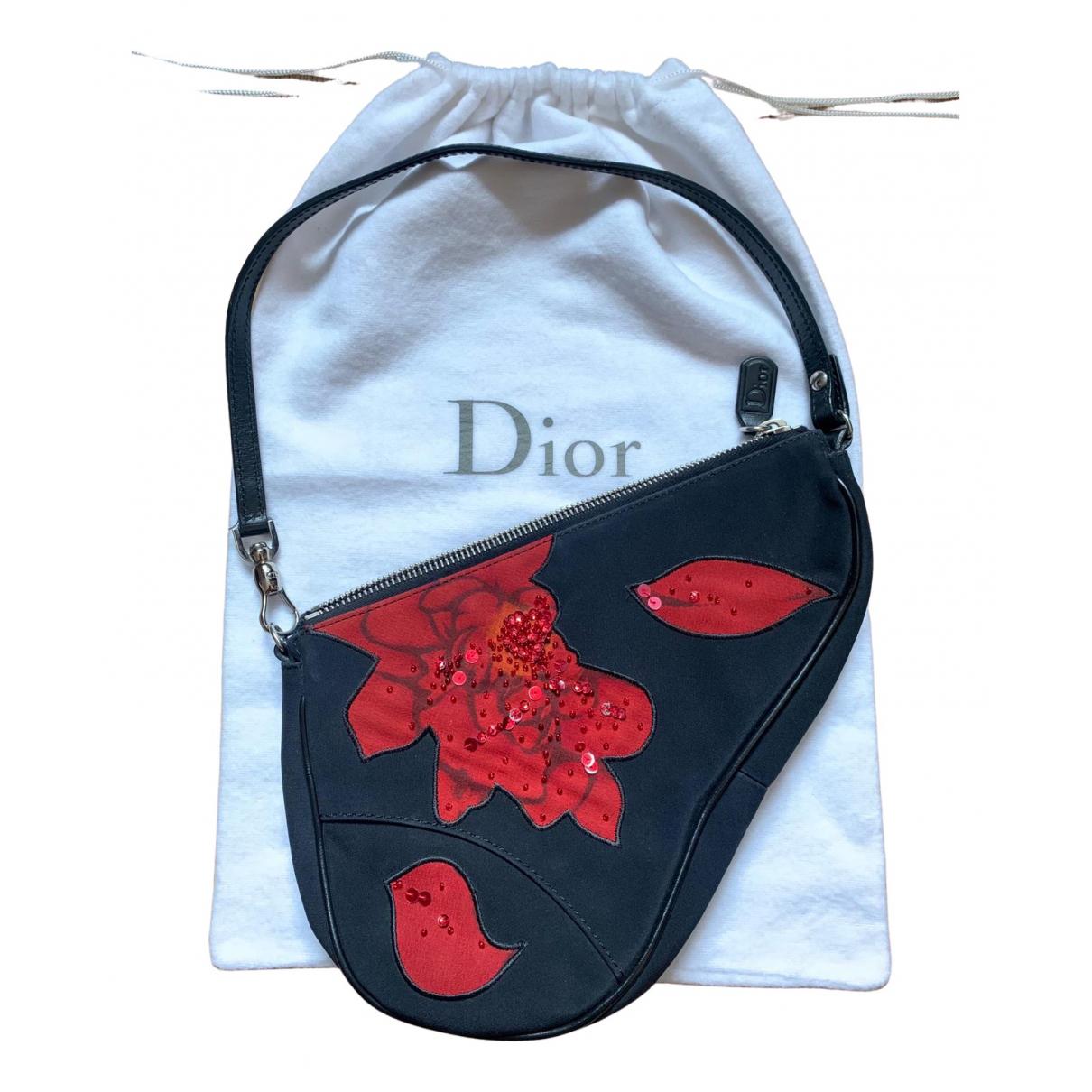 Bolso baguette Saddle de Lona Dior