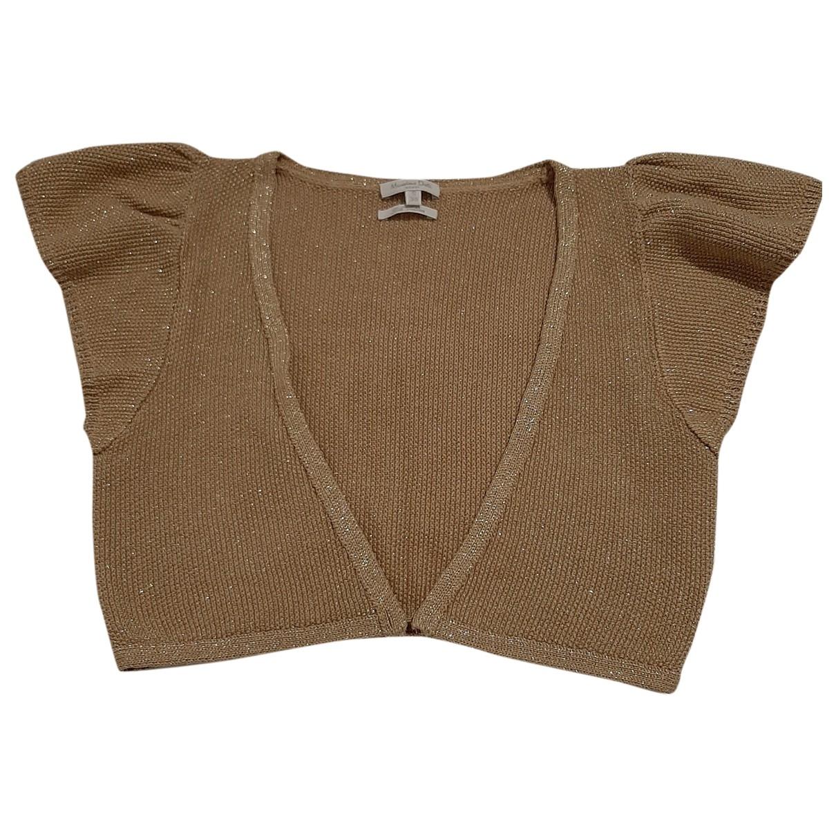 Massimo Dutti \N Gold Silk  top for Women S International
