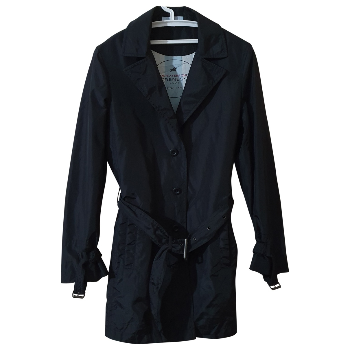 Strenesse \N Trench in  Schwarz Polyester