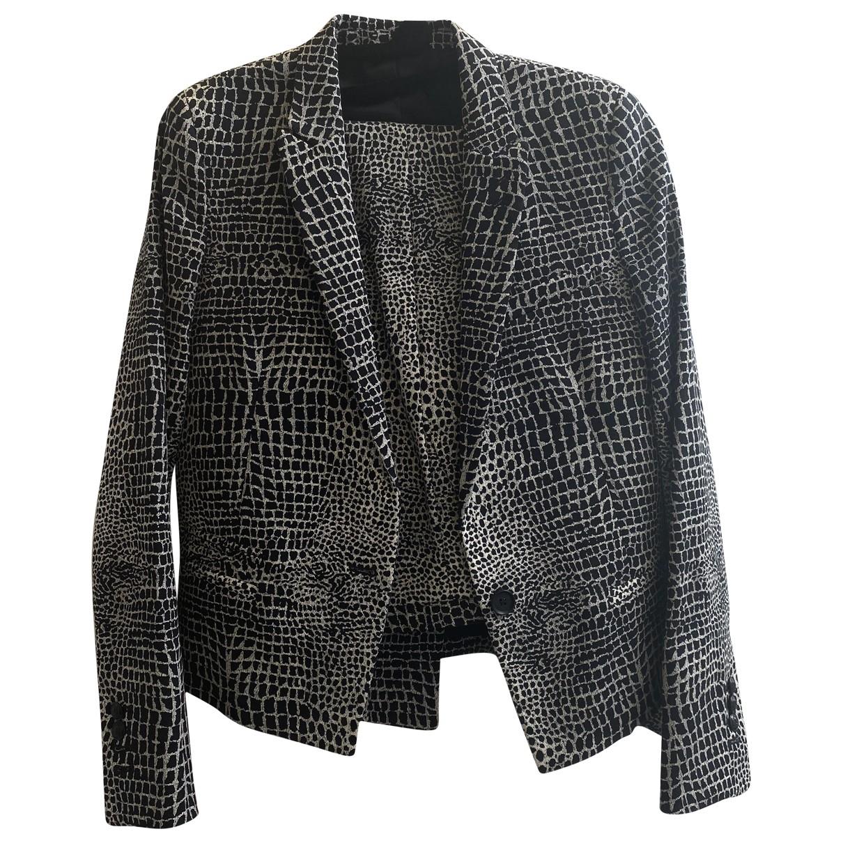The Kooples - Veste   pour femme en coton - gris