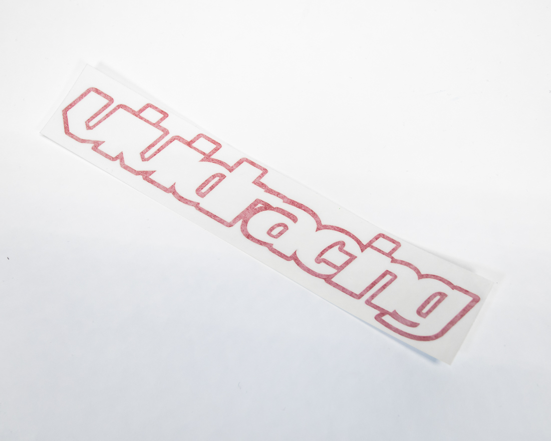 Vivid Racing VR-STKSM Vinyl Die Cut Sticker Small