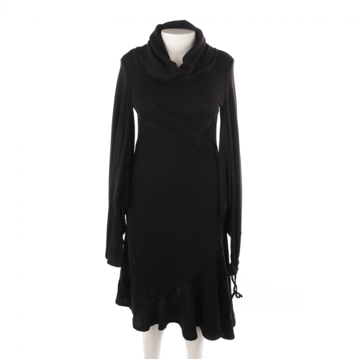 J.w. Anderson \N Black Wool dress for Women 40 FR