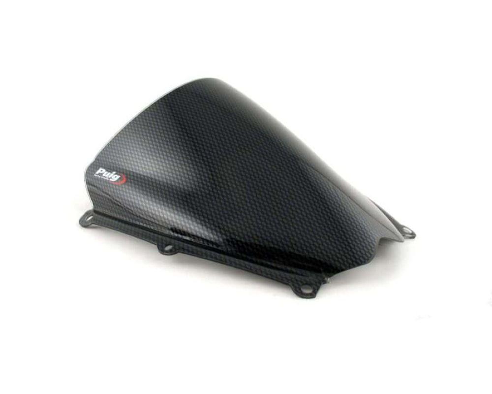 Puig 4363C Racing Windscreen - Carbon Look Suzuki GSX-R1000 2007
