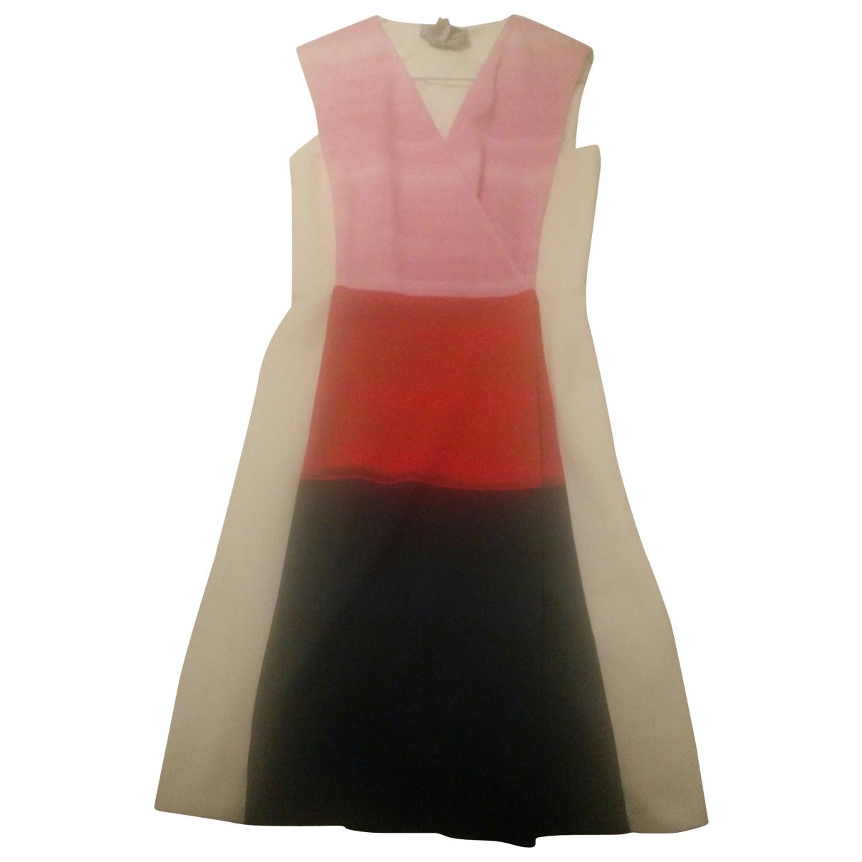 Sport Max \N Kleid in  Bunt Baumwolle - Elasthan
