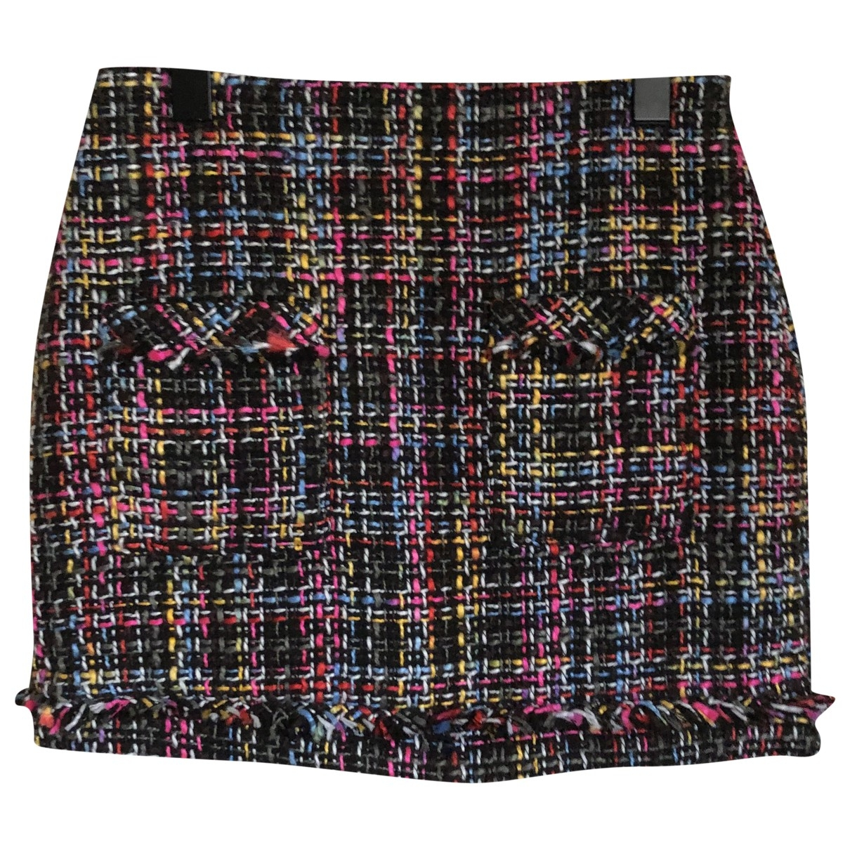 Zara \N Multicolour Cotton skirt for Women XS International