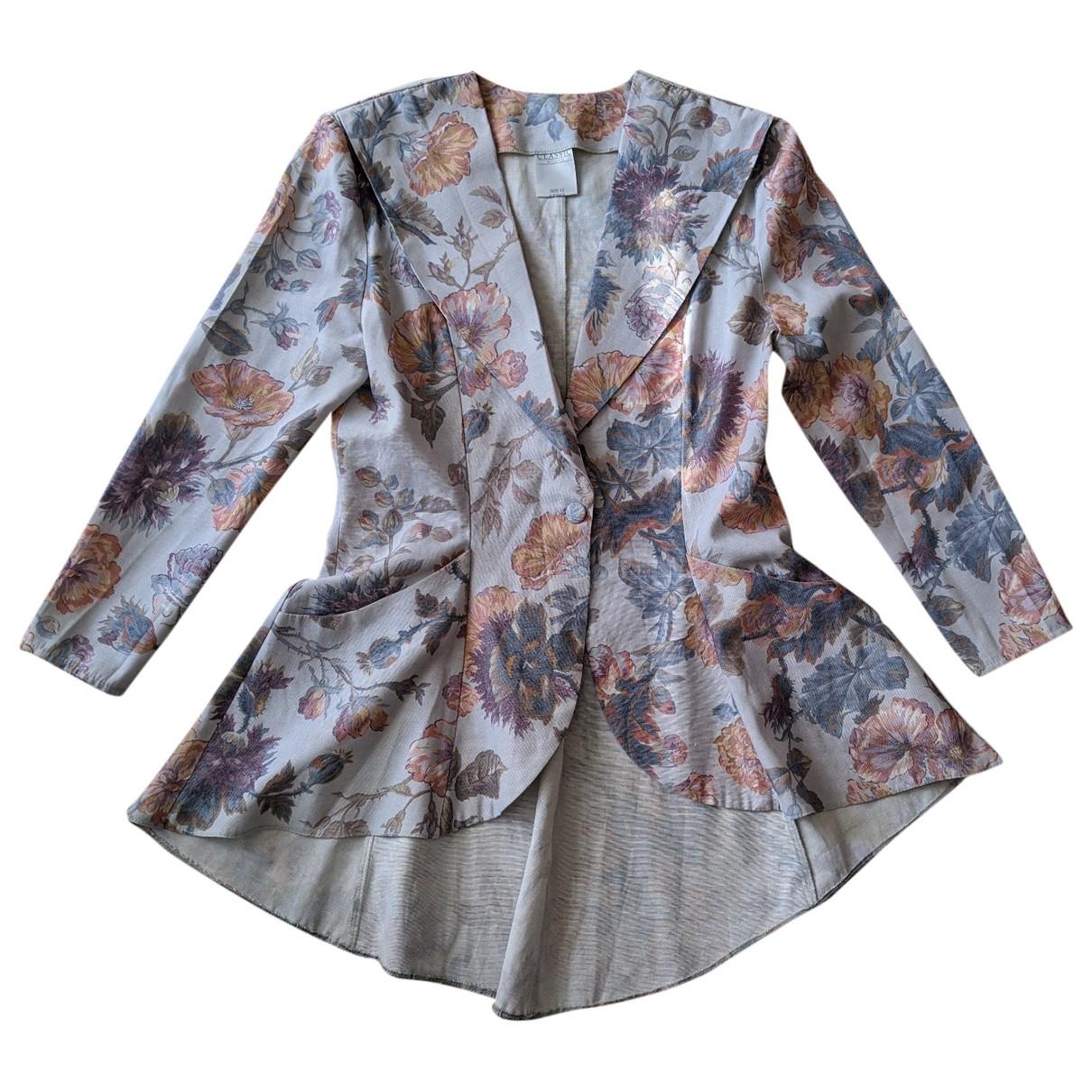 - Veste Hippie Chic pour femme en lin - multicolore