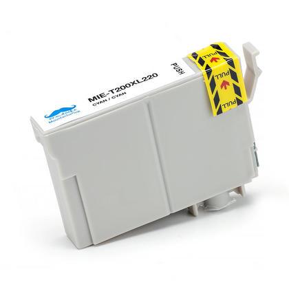 Compatible Epson T200XL220 - 200XL cartouche d'encre cyan haute capacite - Moustache - 3/Paquet