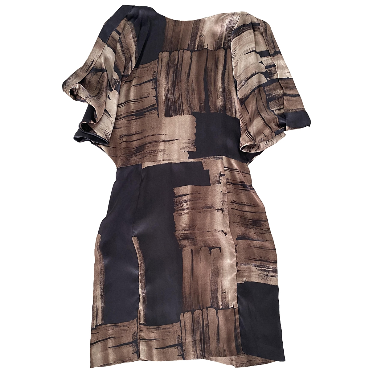 Max & Co \N Kleid in  Bunt Seide