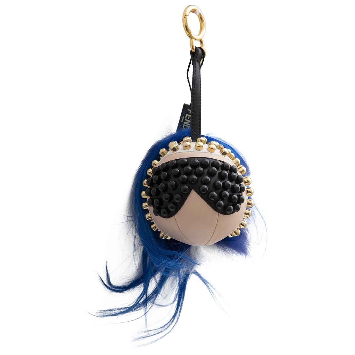 Fendi - Bijoux de sac Bag Bug pour femme en renard - bleu