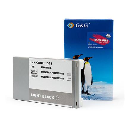 Epson T563700 T562700 cartouche d'encre compatible noire clair pigment - G&G™