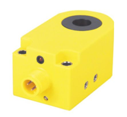 Turck Inductive Sensor - Ring, PNP-NO Output, 30 mm Detection, IP67, M12 - 4 Pin Terminal