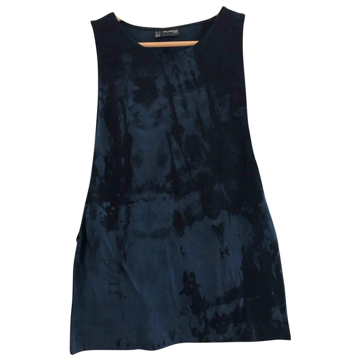 Paco Rabanne \N Blue Cotton  top for Women XL International