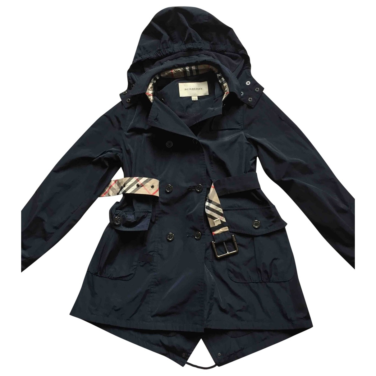 Burberry \N Blue jacket & coat for Kids 8 years - up to 128cm FR