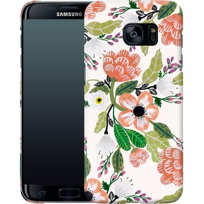 Samsung Galaxy S7 Edge Smartphone Huelle - Botanical Dream von Iisa Monttinen