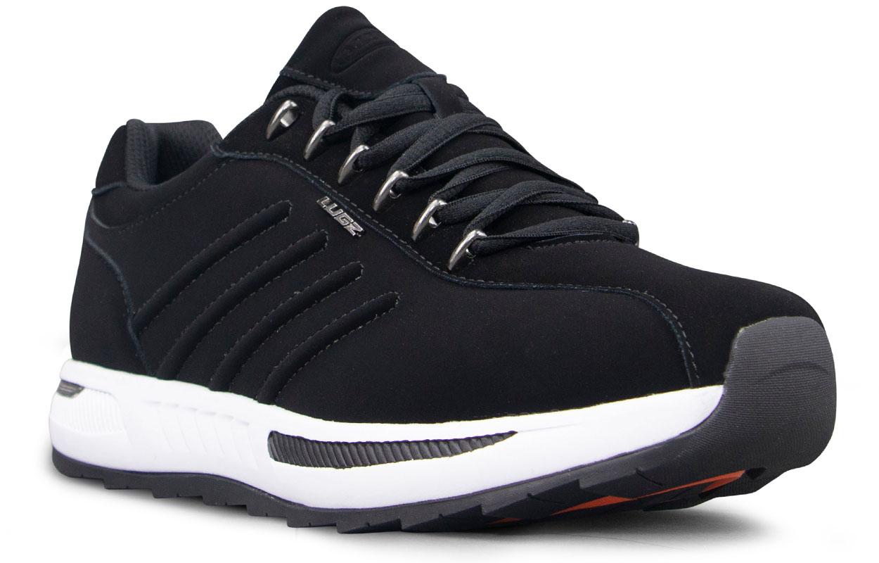 Men's Phoenix Oxford Sneaker (Choose Your Color: Black/White, Choose Your Size: 12.0)