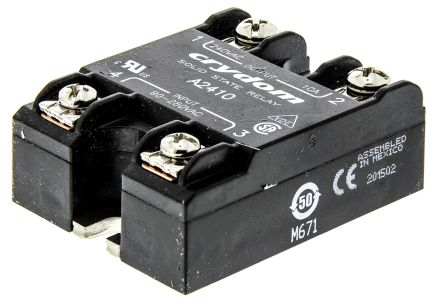 Sensata / Crydom 10 A rms Solid State Relay, Zero Cross, Surface Mount, SCR, 280 V rms Maximum Load