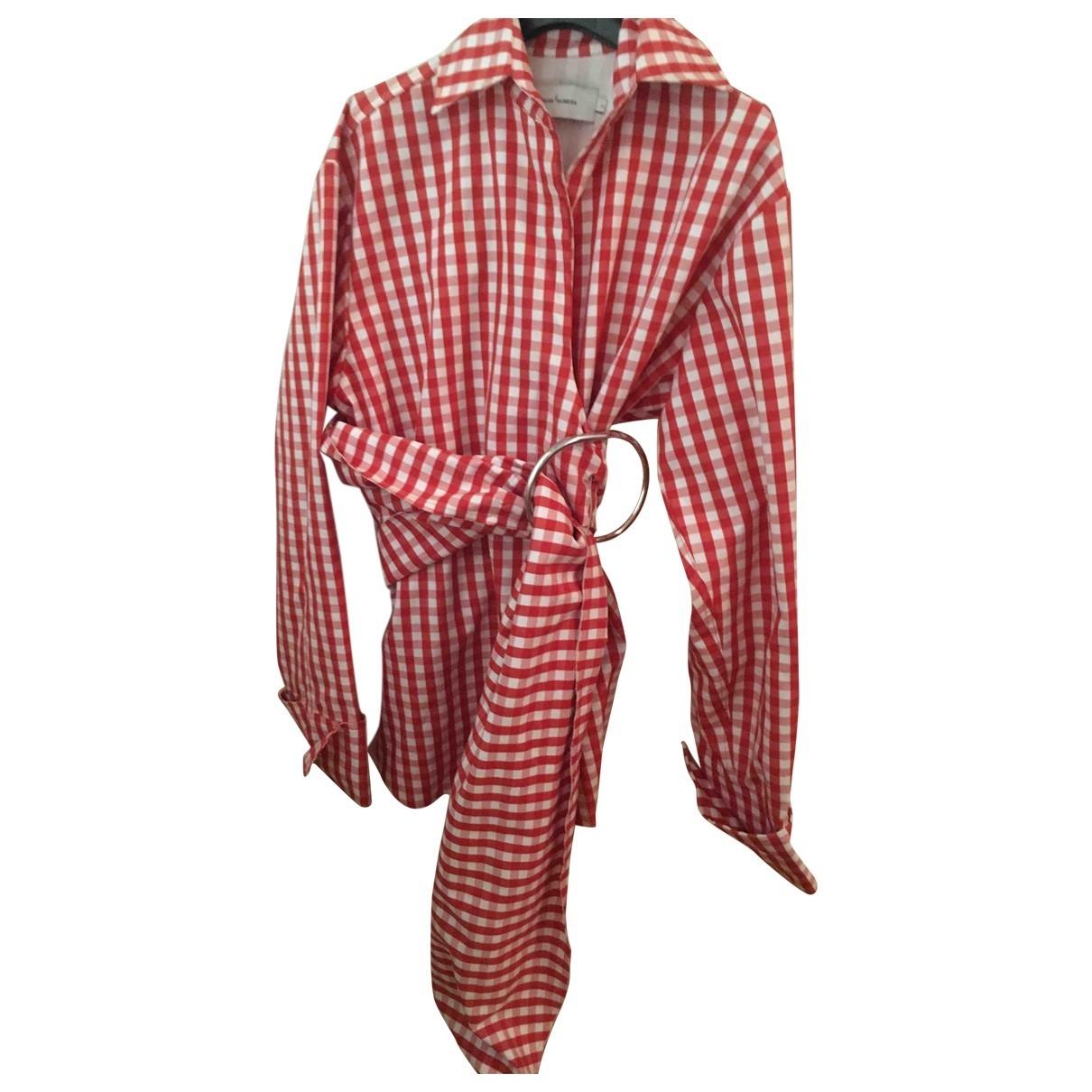 Marques Almeida \N Top in  Rot Baumwolle