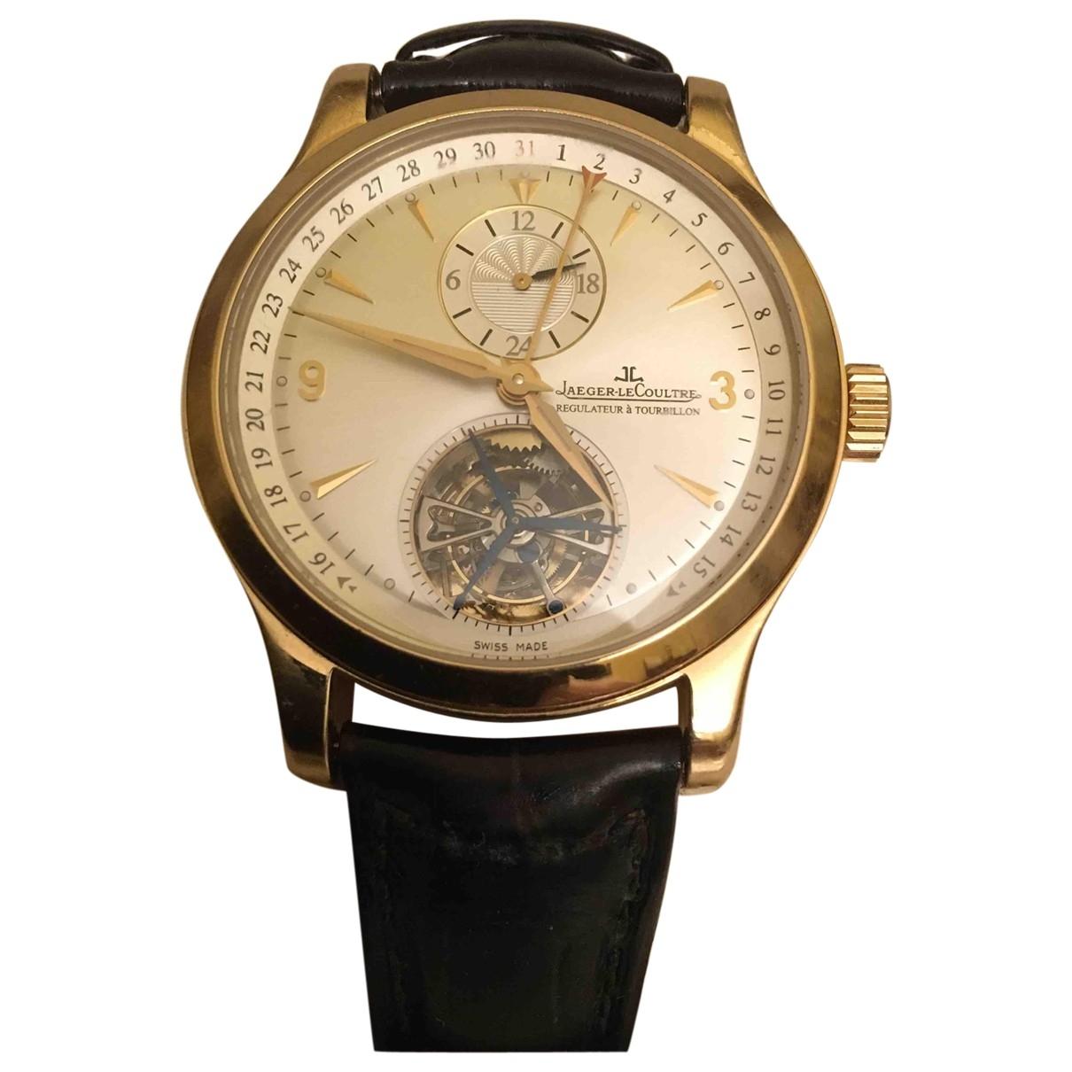 Jaeger-lecoultre \N Uhr in Rosegold