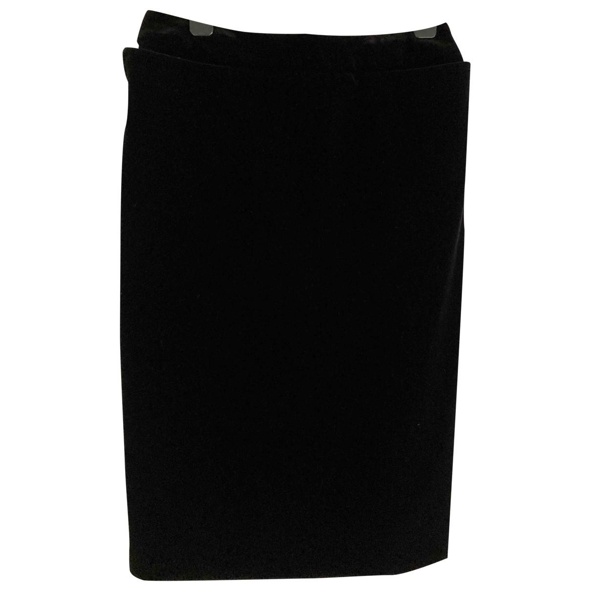 Falda de Terciopelo Yves Saint Laurent
