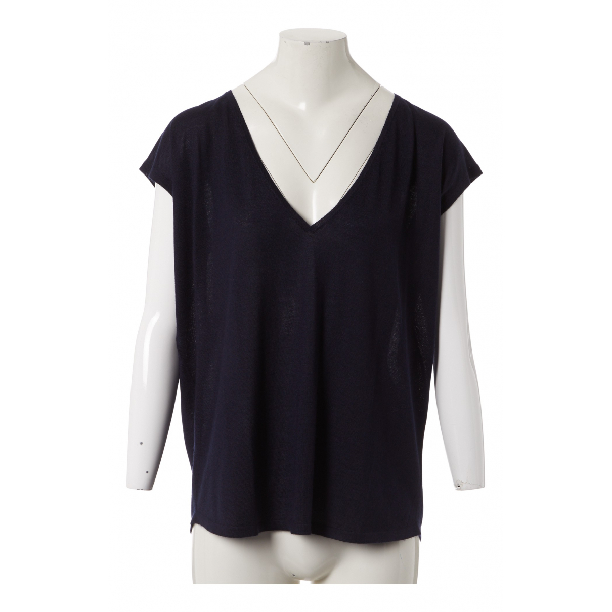 Leetha N Navy Cashmere Knitwear for Women M International