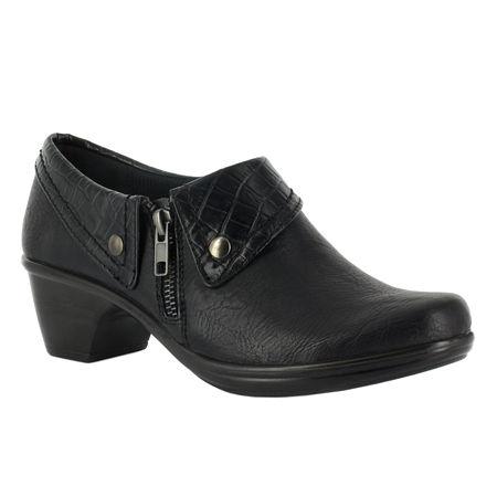 Easy Street Womens Darcy Slip-On Shoe, 8 Medium, Black
