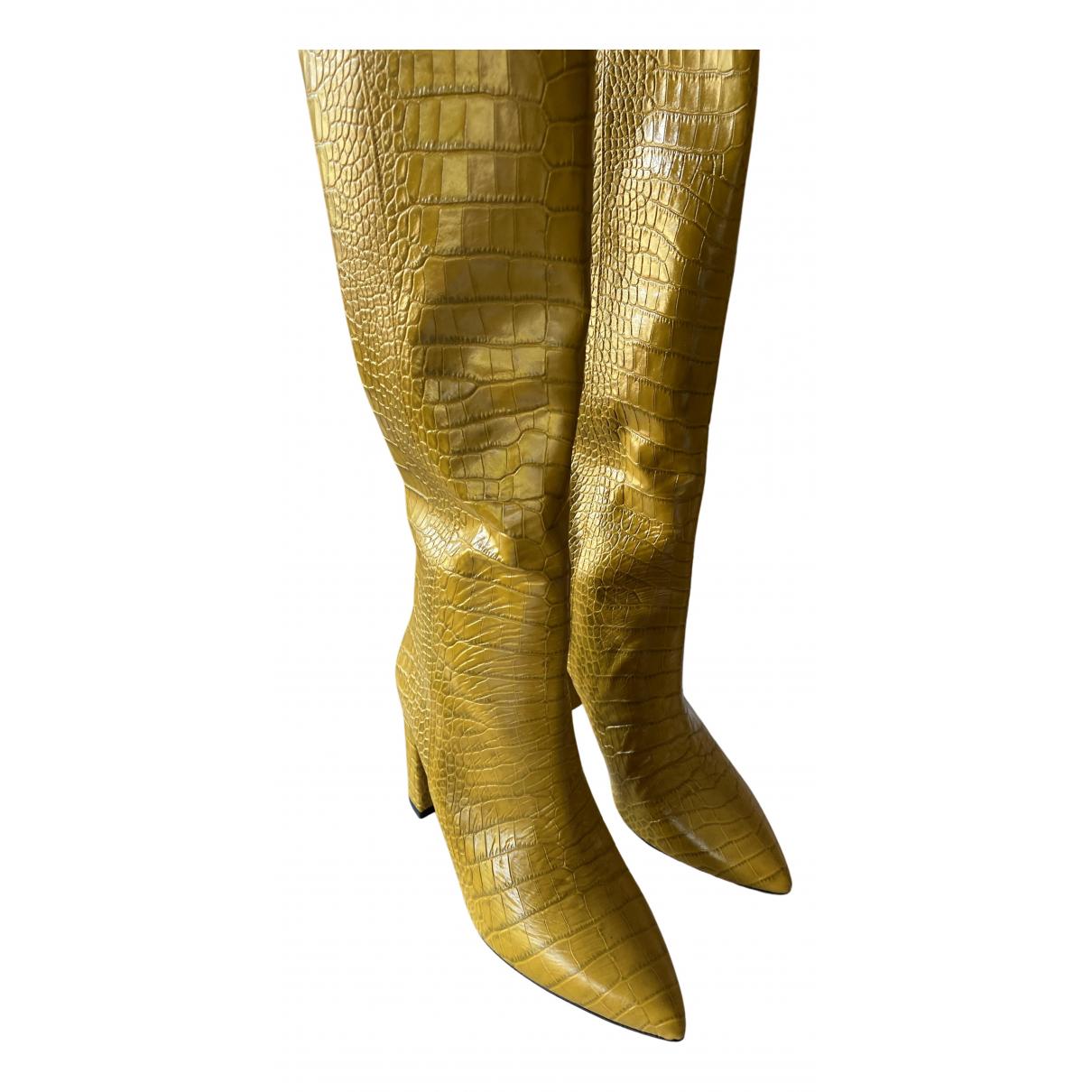 Botas de Cuero Ovye