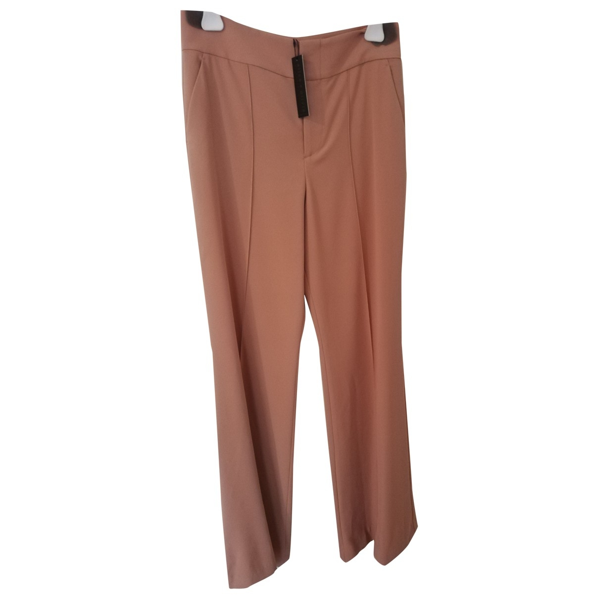 Alice & Olivia \N Pink Trousers for Women 12 US