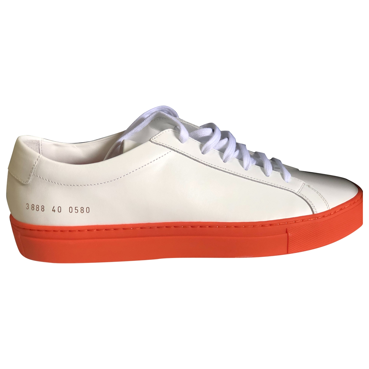 Common Projects \N White Leather Trainers for Women 40 EU