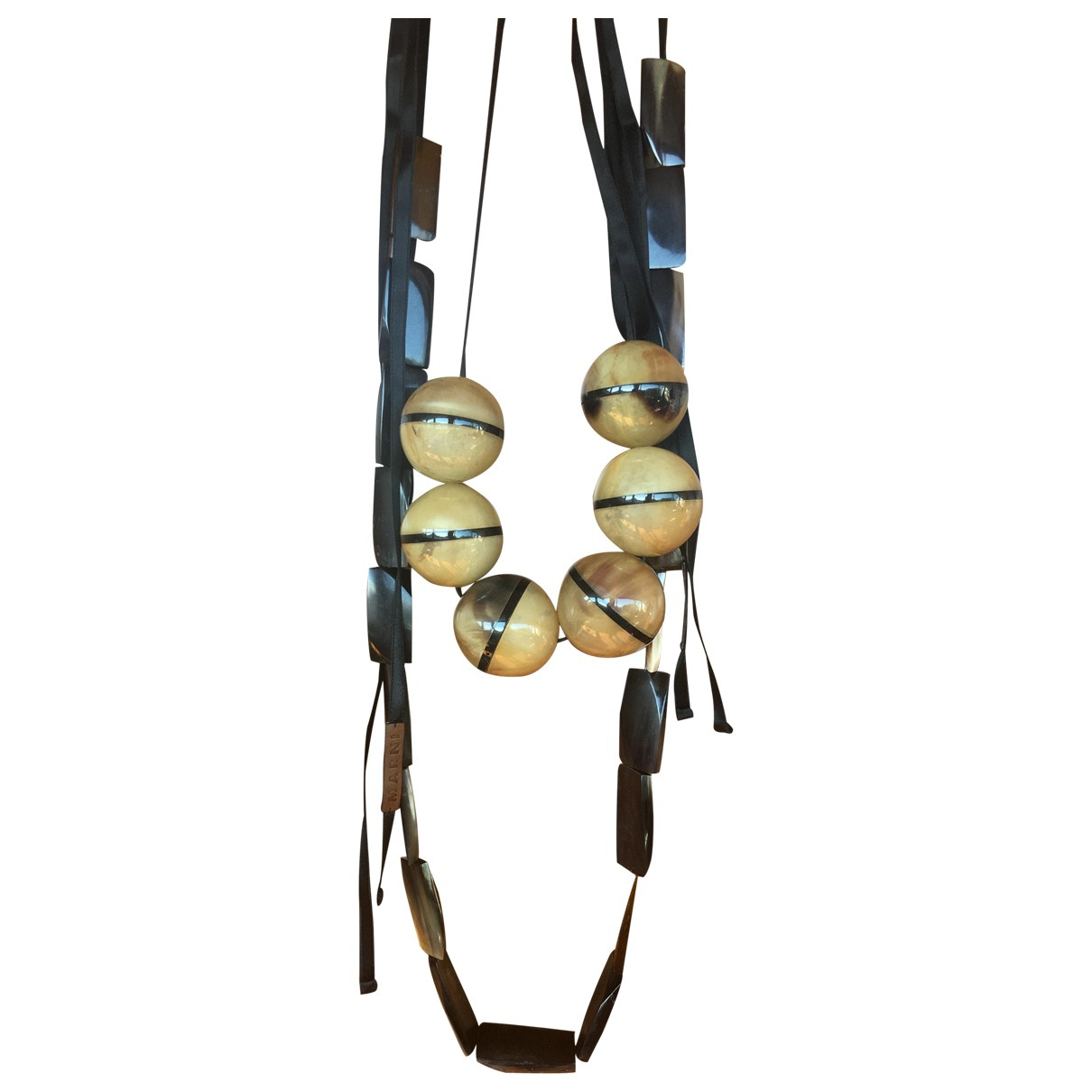 Marni N Multicolour Horn Long necklace for Women N