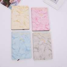 1 Pack Zufaelliges Notizbuch mit Marmor Muster