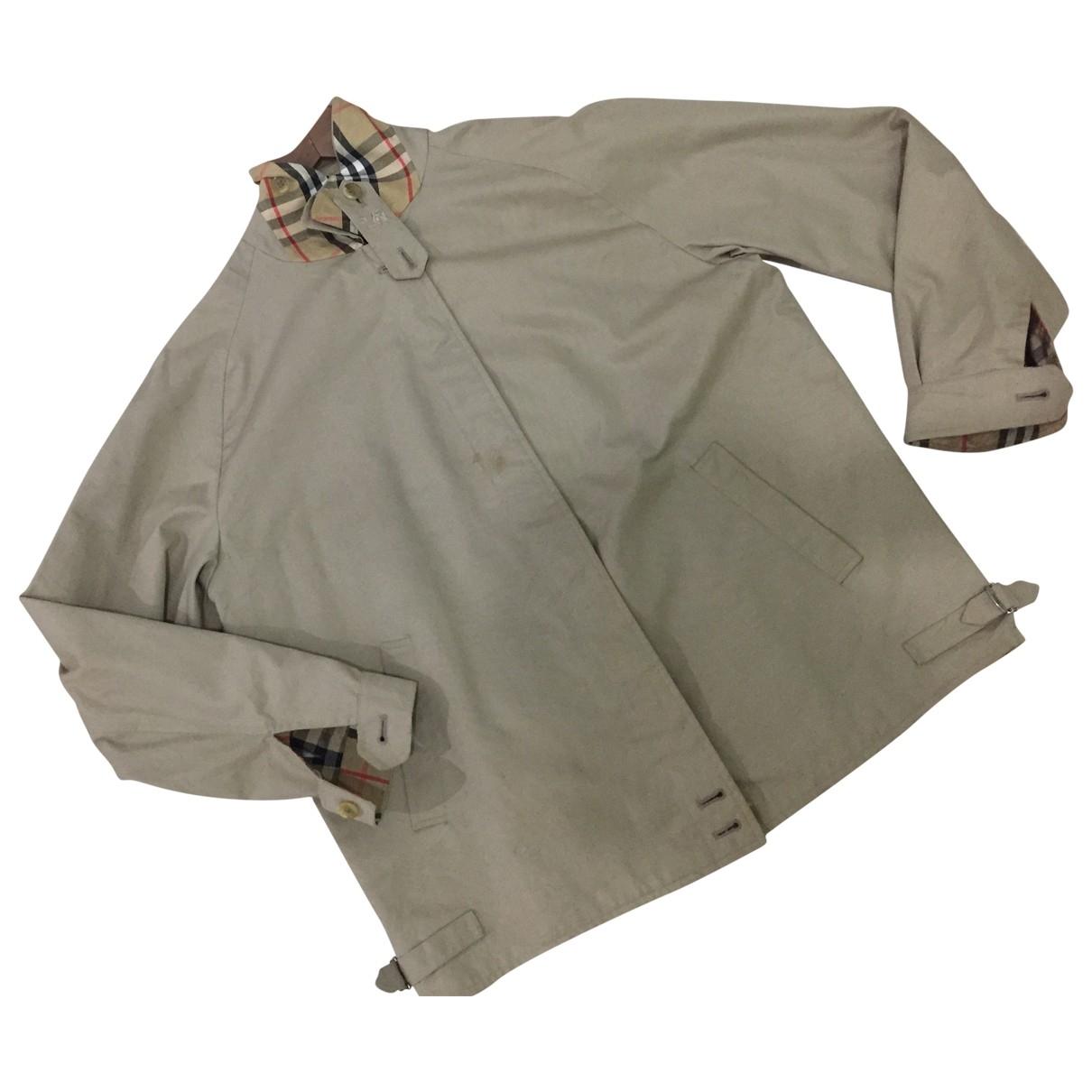 Burberry \N Brown Cotton jacket  for Men M International
