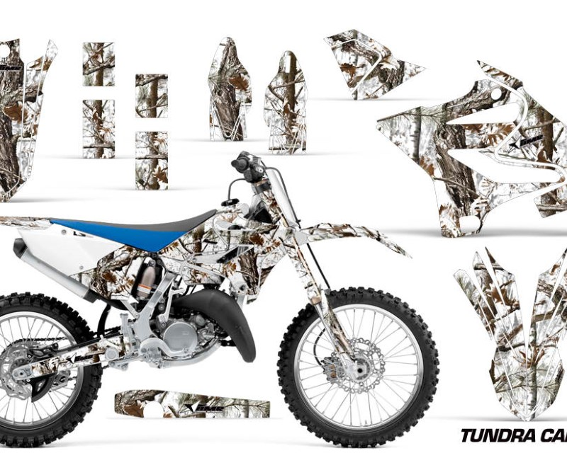 AMR Racing Dirt Bike Decal Graphic Kit MX Wrap For Yamaha YZ125 YZ250 2015-2018áTUNDRA CAMO