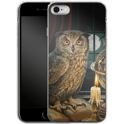 Apple iPhone 6 Silikon Handyhuelle - The Astrologer von Lisa Parker