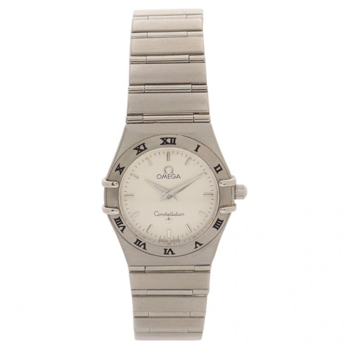 Omega Constellation Silver Steel watch for Women \N