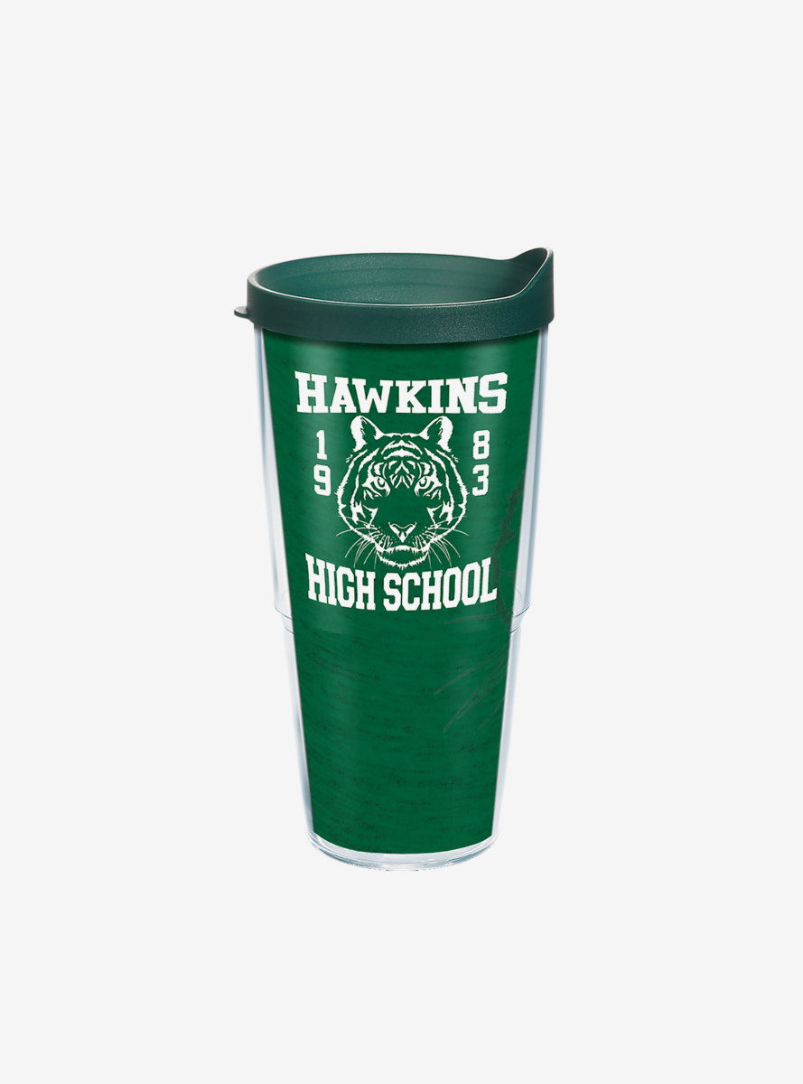 Stranger Things Hawkins High School 24oz Classic Tumbler With Lid