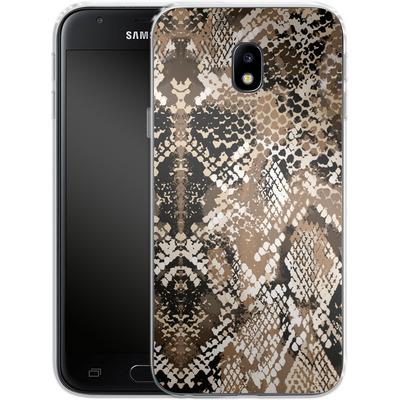 Samsung Galaxy J3 (2017) Silikon Handyhuelle - Snakeskin von caseable Designs