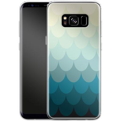 Samsung Galaxy S8 Silikon Handyhuelle - Scales von caseable Designs