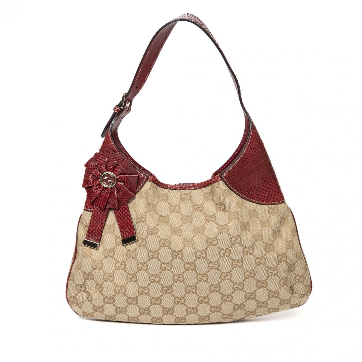 Gucci Hobo Handtasche in Baumwolle