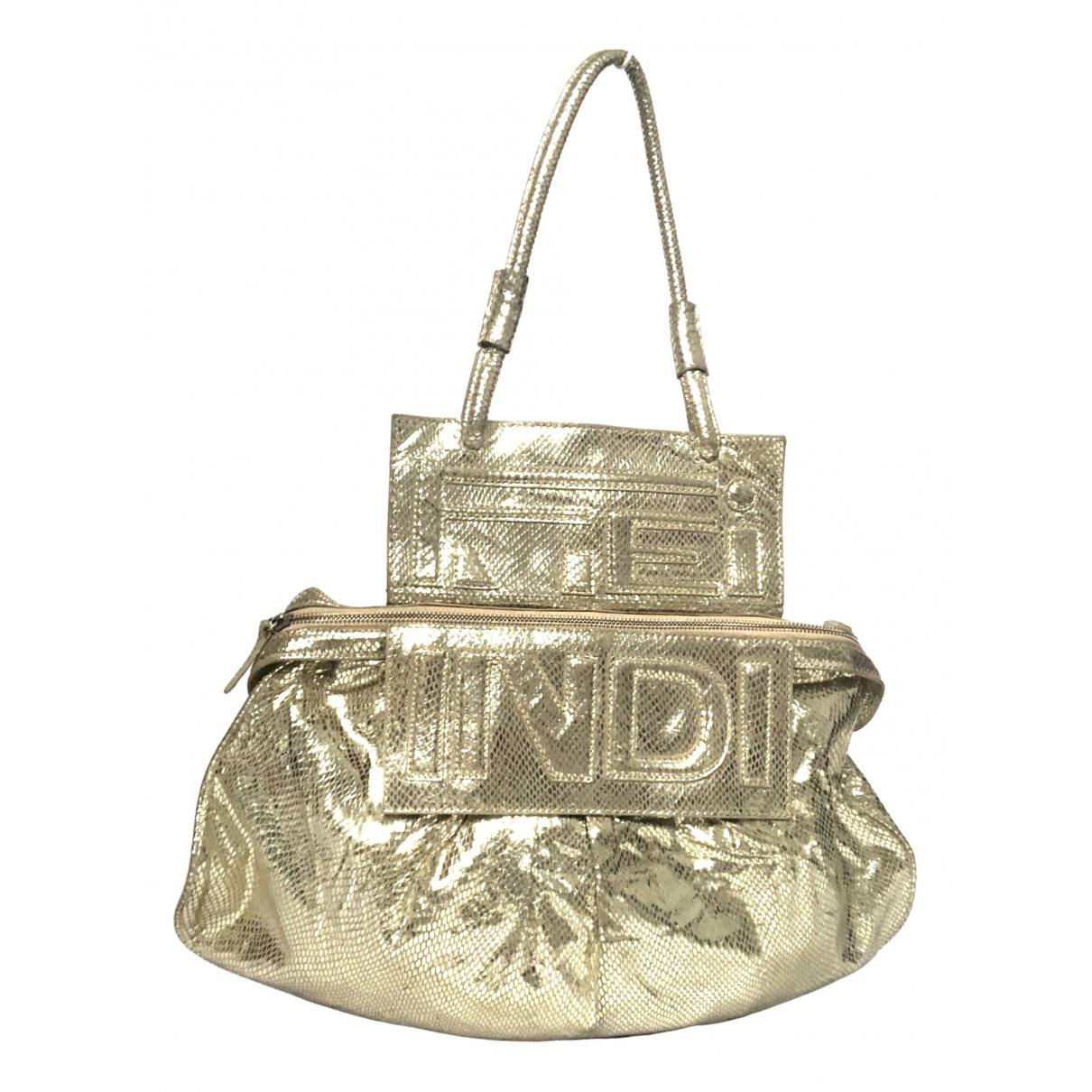 Fendi N Metallic Metal handbag for Women N
